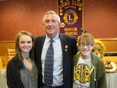 Meeting With Mayor Dan Sherrell Leo Club